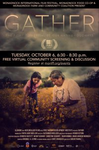 Documentary poster for Gather