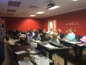 Real estate professionals attended a recent training in Bedford, NH.