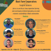 Advertisement for Black Farm Cooperatives panel discussion hosted by NSAC and CoFed