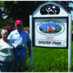 After farming their Fairfax land for more than 25 years, Walter and Diane Berthiaume decided to conserve the property and find new farmers to buy the farm. (courtesy of Vermont Land Trust)