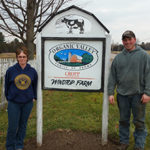 Luckily for Jamie and Dawn Blodgett, the Berthiaumes decided to sell their farm through Vermont Land Trust's Farmland Access program. (courtesy of Vermont Land Trust)